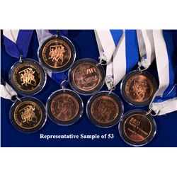 NV - Reno,Washoe County - Silver State Marathon Bronze Medals Collection