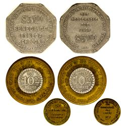 OR - Seneca,Grant County - Seneca Tokens