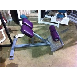 GREY METAL SIT UP BENCH