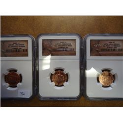 3-2009 LINCOLN BIRTH & CHILDHOOD CENTS NGC BU