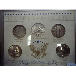US QUARTERS SET SEE DESCRIPTION