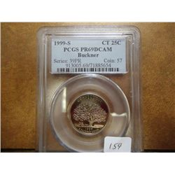 1999-S CONNECTICUT QUARTER PCGS PR69 DCAM