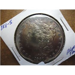 1881-S MORGAN SILVER DOLLAR (UNC)