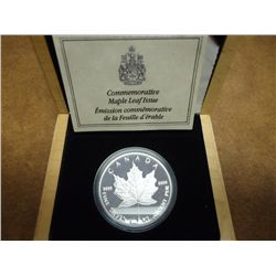 1989 CANADA COMMEMORATIVE MAPLE LEAF ISSUE