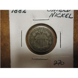 1882 SHIELD NICKEL