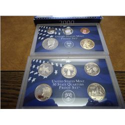 2000 US PROOF SET (WITH BOX)