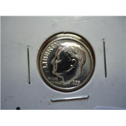 1955 SILVER ROOSEVELT DIME PF 65