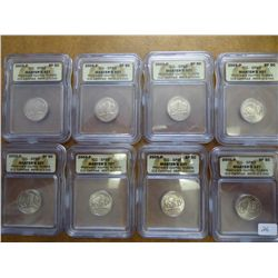 8-2005-P BISON NICKELS ICG SP69