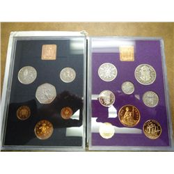 1970, 71 GREAT BRITAIN & NORTHERN IRELAND PF SETS