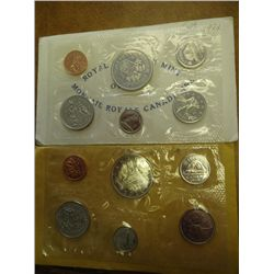 1969 & 71 CANADA PROOF LIKE SETS