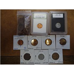 NEAT COIN ASSORTMENT SEE DESCRIPTION