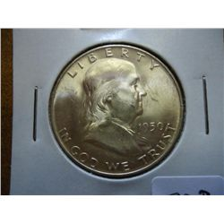 1950-D FRANKLIN HALF DOLLAR (UNC)