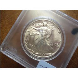 1943 WALKING LIBERTY HALF DOLLAR (UNC)