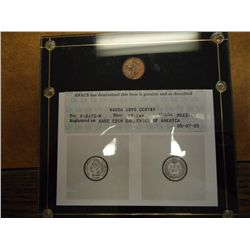 1898 INDIAN HEAD CENT ANACS MS63/63