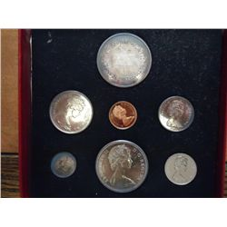 1967 CANADA SILVER PROOF SET