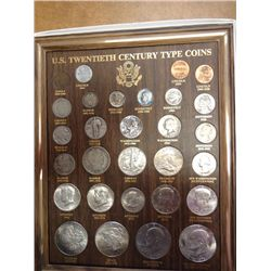 US 20TH CENTURY TYPE SET 29 COINS