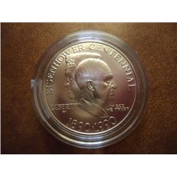 1990-W EISENHOWER CENTENNIAL DOLLAR (UNC)