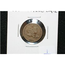 1857 Flying Eagle One Cent