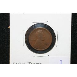 1914-D Wheat Back penny, keydate