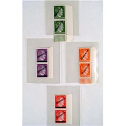 8 ORIGINAL WWII NAZI HITLER POSTAGE STAMPS