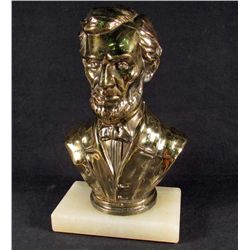US CIVIL WAR ERA ABRAHAM LINCOLN BUST STATUE