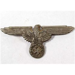 GERMAN NAZI WAFFEN SS OFFICERS VISOR CAP EAGLE