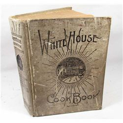 "1929 ""THE WHITE HOUSE COOK BOOK"" HARDCOVER BOOK"