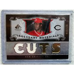 Ken Griffey Sr. Game Used Jersey Swatch Card