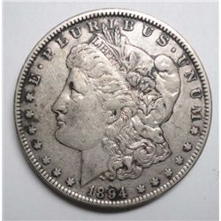1894-O MORGAN DOLLAR XF+ ORIGINAL