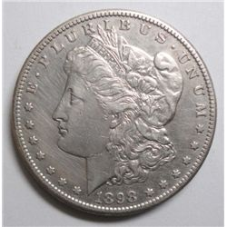 1898-S MORGAN DOLLAR XF/AU CLEANED