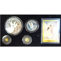 1993 BALLERINA PROOF SET BOLSHOI THEATRE