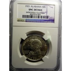 1921 ALABAMA HALF DOLLAR NGC CHOICE BU
