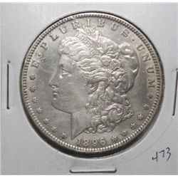 1896O Morgan $  nice AU53  MS60 GS bid = 1100.00