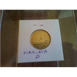 Uncirculated Statehood Quarter Virginia  Denver Mint