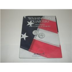 Washington Statehood Quarters State Series 1999 P & D Mints in Harris and Co  Album