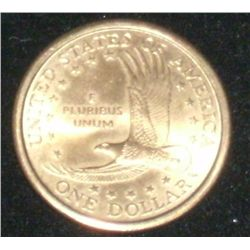 2000-P COLLECTIBLE SACAGAWEA ONE $1 DOLLAR USA COIN EAGLE BACK!
