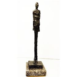 Alberto Giacometti  Original, limited Edition  Bronze - HOMME