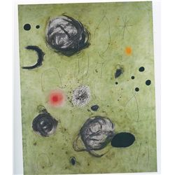 The First Spark of the day - Miro - Limited Edition on Canvas