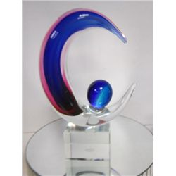 Murano Glass - sun and moon sculpture