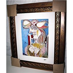 Picasso   Limited Edition - Seated Woman 2