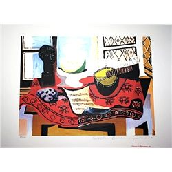 Limited Edition Picasso - Still Life with Mandolin - Collection Domaine Picasso