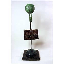 Joan Miro  Original, limited Edition  Bronze - Woman with Beautiful Breasts