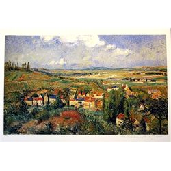 Limited Edition Pissaro- L'Hermitage In Summer - Collection Domaine Pissaro