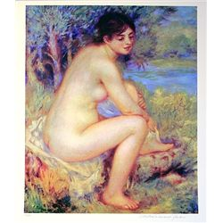 Limited Edition Renoir- Seated Girl - Collection Domaine Renoir