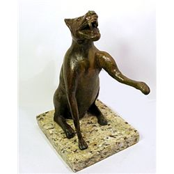 Rufino Tamayo  Original, limited Edition  Bronze -  SEATED DOG
