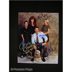 Married With Children Signed Cast Photo