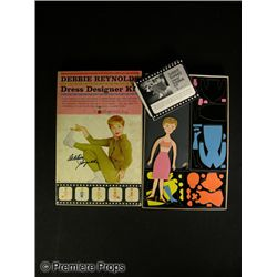 Debbie Reynolds Signed Colorforms Set