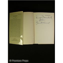 Winterset Book Signed by Cast