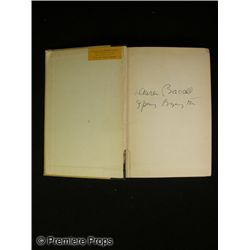 Lauren Bacall and Spring Byington Signed Book