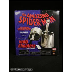 Amazing Spider Man Pewter Web Shooters Signed by Stan Lee